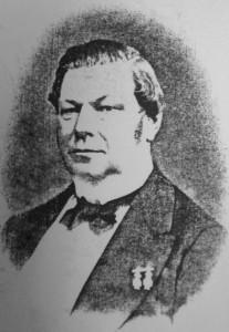 Borgmester von Jessen. Affotograferet med tilladelse i Byarkivet