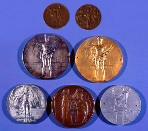 Schultz Lasen dynastiets OL-medaljer. Foto Margit Egdal