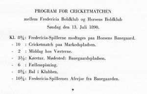 FIL 2.1 (2) Program for cricketmatchen